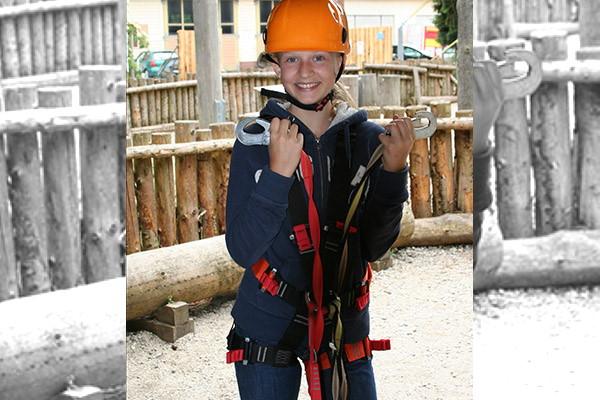 Kletterpark Sigmaringen Ausrüstung Sicherheit Karabiner