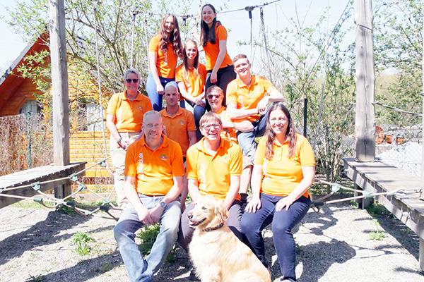 Team vom Kletterpark Sigmaringen