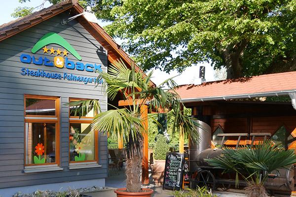 Burger im Steakhouse Palmengarten in Sigmaringen